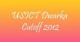 USICT Cutoff 2012