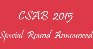 CSAB 2015 Special Round Announced