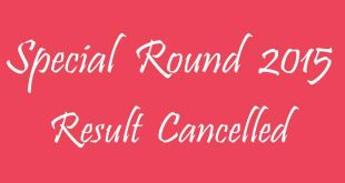 Special Round 2015 Result Cancelled