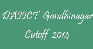 DAIICT Cutoff 2014