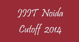 JIIT Noida Cutoff 2014