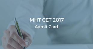 MHT CET 2017 Admit Cards Released
