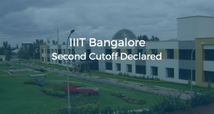 IIIT Bangalore Second Cutoff Declared