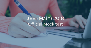 JEE Main 2018 Official Mock Test