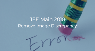 JEE Main 2018 Remove Image Discrepancy