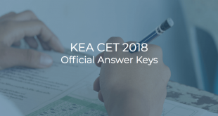 KEA CET 2018 Official Answer Keys