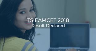 TS EAMCET 2018 Result Declared