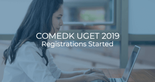 COMEDK UGET 2019 Registrations started