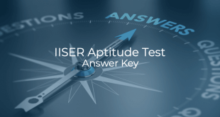 IISER Aptitude Test Answer Key