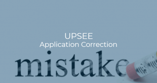 UPSEE Application Correction
