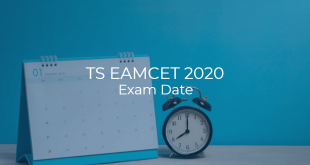 TS EAMCET 2020 Exam Date
